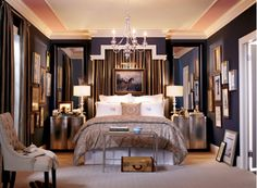 Elegant Bedroom Design - Home and Garden Design Idea's