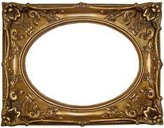 8 Inch Marie Antoinette Gold Frame