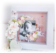 Na różowo - Dt Craft Passion Shadow Frame, Black Dots, Polymer Clay, Scrapbooking, Layout, Cards, Pink, Passion, Inspiration