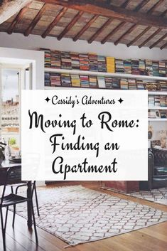 "My new series, ""Moving to Rome,"" is about the behind the scenes stress, work, and craziness that went into my life today. This week, I'm sharing a more practical aspect of moving to #Rome: finding an #apartment. Finding an #Italian apartment can be tricky! Often, the best way to find an apartment is through word-of-mouth. So, unless you have a huge social network in Rome, you better check out this post to get some guidance on #renting from sites like #nestpick."