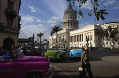 President Barack Obama's Historic Cuba Trip in Photos - Bloomberg Business