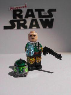 Lego Star Wars minifigures - Clone Custom Order 66 Commander Gree
