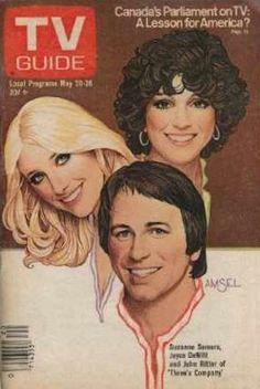 TV Guide: Three's Company cast