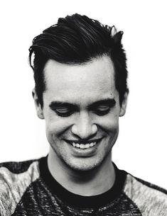 Brendon Urie.. if I could be a little less infatuated with him, I would actually be able to function like a typical human being...