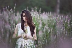 Purple field by Brenda Waworga on 500px