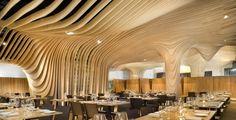 Banq restaurant by NADAAA > http://www.world-architects.com/nadaaa Photo: John Horner