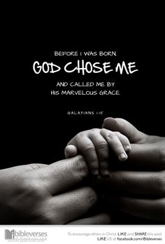 God chose You - iBibleverses :: Collection of Inspiration Bible Images about Prayer, Praise, Love, Faith and Hope