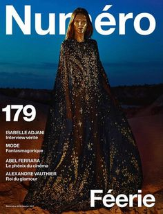 Roos Abels by Txema Yeste for Numéro December 2016/January 2017 Covers.