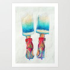 High-Ideals 2 Art Print by Lynsey Morgann Laurence - $64.48