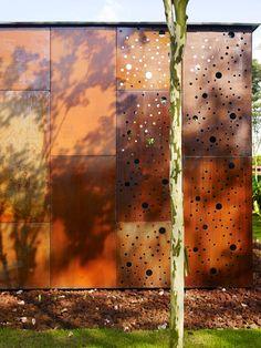 Public Washroom with Oxidised Steel « Landscape Architecture Works | Landezine