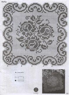 Watch The Video Splendid Crochet a Puff Flower Ideas. Phenomenal Crochet a Puff Flower Ideas. Crochet Flower Patterns, Doily Patterns, Crochet Motif, Crochet Designs, Crochet Doilies, Crochet Flowers, Knit Crochet, Filet Crochet Charts, Crochet Cross