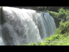 Relaxing Waterfall - 10 Hours . Peace Serenity Calm Nature Relaxation