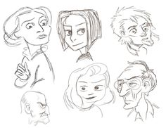 Sunday Sketches #digitalart #illustration #drawing #sketch #pencildrawing #doodle #instaart #instagood #instagram #art #faces