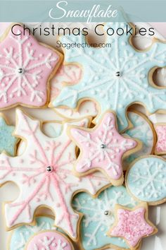 20 Of Our Best Christmas Cookie Recipes Bring magic to their holidays! Perfect for gift-giving, office parties and yummy treats throughout the holidays. http://stagetecture.com/holiday-round-best-christmas-cookie-recipes/