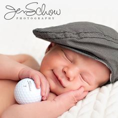 growin' up to be a golfer...simple props create a stunning picture