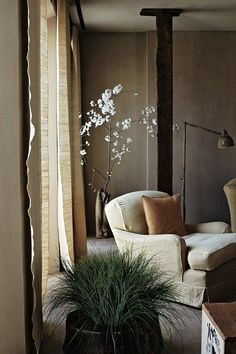 Deco Wabi Sabi: 6 Precepts for a Zen decoration - living room Home Design, Best Interior Design, Home Interior, Interior And Exterior, Luxury Interior, Luxury Furniture, Design Design, Modern Design, Nooks
