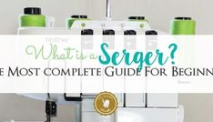Never re-thread again! The best way to change serger threads. Serger Thread, Serger Sewing, Sewing Notions, Sewing Tips, Sewing Hacks, Sewing Tutorials, Sewing Ideas, Sewing Machine Tension, Serger Projects