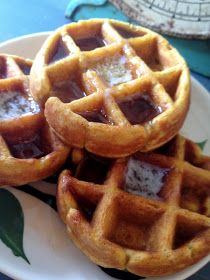 *Rook No. 17: recipes, crafts & whimsies for spreading joy*: Easy 5-Minute Pumpkin Waffles