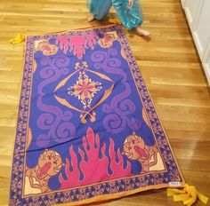Magic Carpet - Whimsical Items That Will Bring Your Inner Disney Princess to Life - Photos Disney Frozen, Disney Pixar, Disney Parks, Disney Diy, Disney Crafts, Disney World Resorts, Disney Dream, Disney Love, Disney Magic