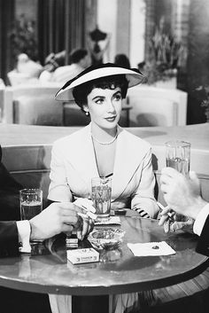 Elizabeth Taylor in The Girl Who Had Everything (1953)
