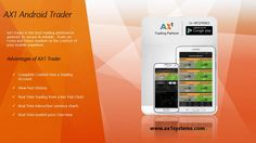 Ax1 Systems Launches best Android Mobile Trader ,With the  Ax1 Trader View Past History  and Real time interactive currency charts.
