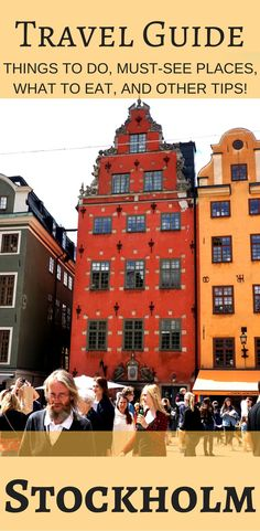Everything you need to know about Stockholm. Things to do, must see places, what to eat, and other tips.