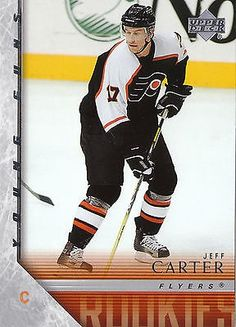 nice 05-06 UPPER DECK YOUNG GUNS ROOKIE RC #444 JEFF CARTER FLYERS 10949 - For Sale View more at http://shipperscentral.com/wp/product/05-06-upper-deck-young-guns-rookie-rc-444-jeff-carter-flyers-10949-for-sale-2/