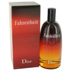 Fahrenheit By Christian Dior Eau De Toilette Spray 6.8 Oz