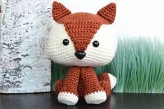 This adorable fox crochet pattern is the perfect amigurumi project for fox lovers.  Felix The Fox is a Crochet Pattern ONLY - Instant Download