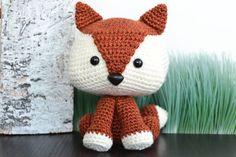 Fox patron au Crochet. Felix le renard Amigurumi par YarnSociety