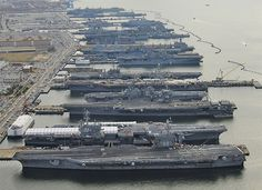 This Is Why the US Navy Is the Most Formidable Naval Force In the World Poder Naval, Naval Station Norfolk, Cruisers, Uss Enterprise Cvn 65, Navy Aircraft Carrier, Us Navy Ships, United States Navy, Battleship, Armed Forces