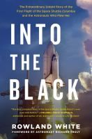 Into The Black: The Extraordinary Untold Story of the First Flight of the Space Shuttle Columbia & the Astronauts Who Flew Her by Rowland White. In 1981, the Columbia launched for the first time--a triumph of science & aviation. But early in the flight, indicators showed a breach in the heat shield, forcing NASA and the astronauts on board to improvise a plan to get the shuttle back into the atmosphere safely. A race-against-the-clock technological thriller. #MedinaLibrary #RowlandWhite…