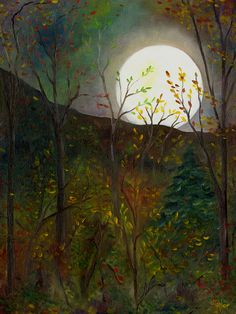 Frost Moon, by F.T. McKinstry