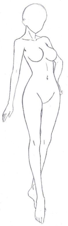 Lady pose