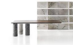 Elegant Table Marble Structure - Marble Table | Kreoo