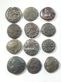 Greek Coin Desert Patina Unsearched Coins: Ancient