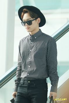 Chen His fashion sense is always on point