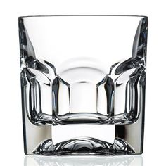 This double old fashion drinking glass from the RCR Provenza Collection features a clean simple design to create a modern look that works great for any occasion. This clean cut beautiful glass will match and coordinate with any style.