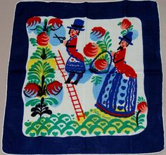 Signed Peter Hunt Vintage Hankie  Early by AntiqueAddiction, $24.99