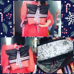 @lentrefyl sur Instagram: Réalisation de du sac à dos Troïka et du portefeuille Mékhy au pied du sapin