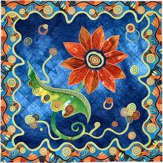 Summer Jewels - by Georgia Heller, Quilt Artist