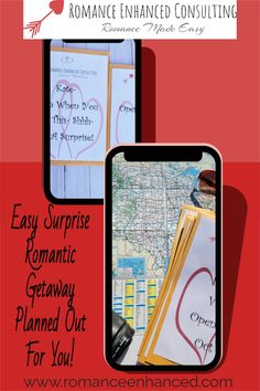 Easily Surprise and Wow Your Spouse With A Romantic Getaway That Is All Planned For You By A Romance Coach! The best part is that you will get the credit for being so romantic! #romanticgetaway #surpriseromatnicweekend #reconnect #romanticvacay #romanticgifts #easyromanticgetaway #getawayideas #romantichelp #easyromanticgetawayideas