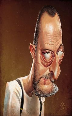 adore him on Leon:The Professional