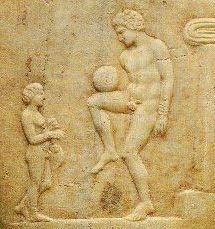 Ancient Greek Football Player - Ποδόσφαιρο - Βικιπαίδεια