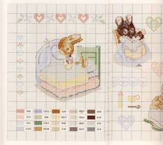 Gallery.ru / Фото #49 - Veronique Enginger. Le monde de Beatrix Potter - CrossStich