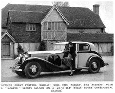 Hooper Rolls-Royce Phantom II Continental Sports Saloon 30PY 1933