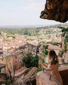 Cotignac Town Near The Gorges du Verdon in France Visit France, South Of France, Paris Travel Guide, Travel Guides, Provence, European Road Trip, Road Trip Essentials, Cities In Europe, France Travel