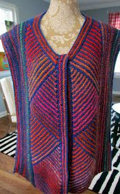 I've had several (two) requests for this pattern, so you non-knitters, just chat amongst yourselves whilst I elucidate. This not a real st. Summer Knitting, Easy Knitting, Knitting Stitches, Knitting Patterns Free, Knitting Ideas, Drops Design, Crochet Shawl, Knit Crochet, Knit Vest Pattern