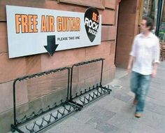 Where is this? I want a free air guitar!!