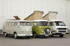 Welcher VW-Camper ist der beste? Um das zu klären, packen wir unsere Siebensachen zusammen und fahren raus – mit VW T1 Westfalia, T2 Helsinki und T3 Joker.